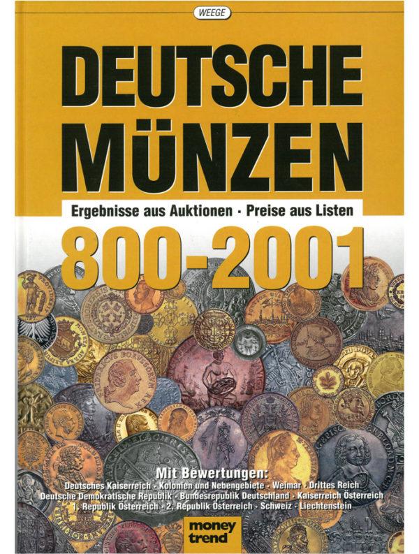 Deutsche Münzen 800-2001