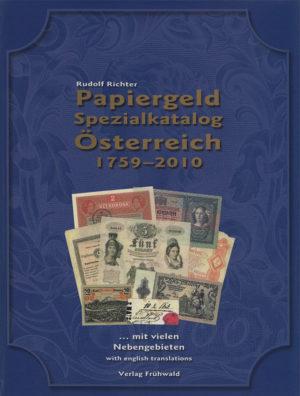rudolf-richter-papiergeld-spezialkatalog-österreich